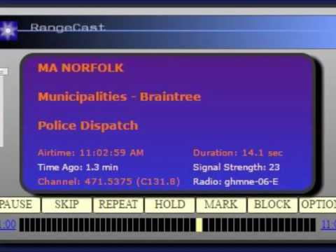 Police scanner audio from the shooting at the Motel 6 in Braintree on Friday night