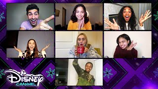 Disney Channel Reacts to Put the Happy in the Holidays | Holidays Unwrapped | Disney Channel