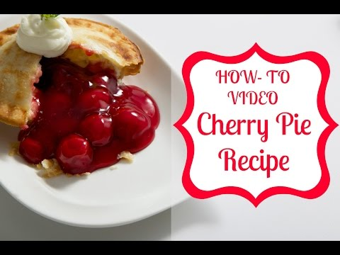 How To Make a Mini Cherry Pie in Just 7 Minutes!