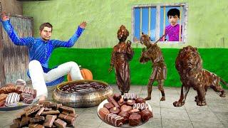 चॉकलेट खिलौने वाला Chocolate Toys Wala Comedy Video हिंदी कहानिया Hindi Kahaniya Funny Comedy Video
