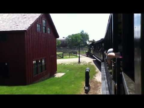 STEAM ENGINE RIDE GREENFIELD VILLAGE MICHIGAN