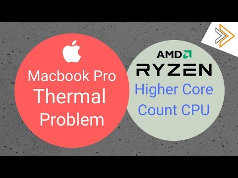 Core i9 Macbook Pro Thermal throttles & AMD Zen 2 Processor with more Core Count [In Hindi]