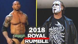 10 Rumored Surprise Entrants 2018 Royal Rumble