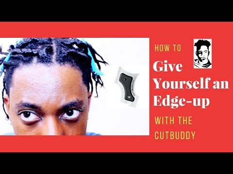 HOW TO GIVE YOURSELF AN EDGE UP (HAIRCUT)   WINSTONEE