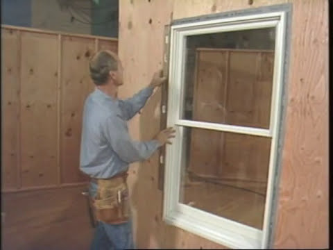 Installing a Wood Window by Yourself - How to Install New Windows in Your House