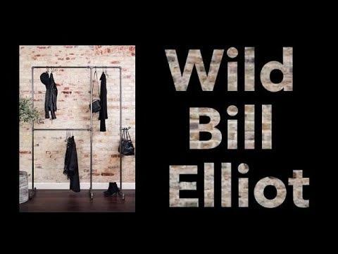 How to build RackBuddy Wild Bill Elliot - Gør-det-selv tøjstativ i vandrør