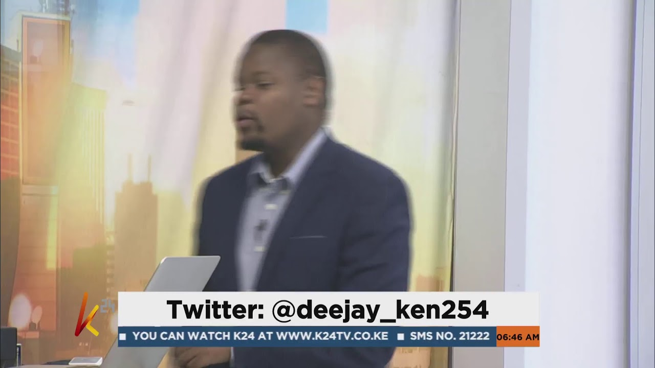 One on one with deejay_ken254 on HangOutFriday | K24ThisMorning