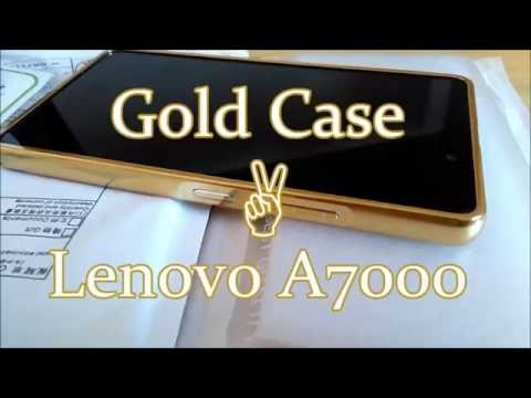Aliexpress Luxury Gold Case For Lenovo A7000 Ultra Slim Metal Back Cover Case