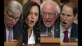 """THIS BILL IS A TAX SCAM!!!"" Bernie Sanders & His Friends DESTROY Trump"
