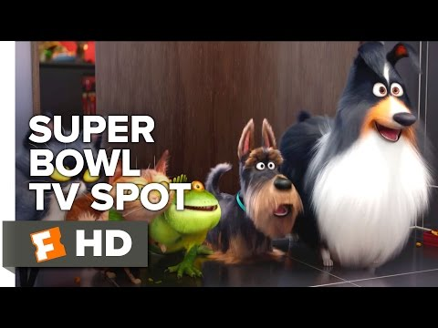 The Secret Life Of Pets Super Bowl TV Spot 2016 - Kevin Hart, Jenny Slate Animated Comedy HD