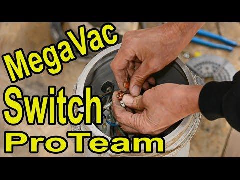 MegaVac ProTeam Switch BackPack Vacuum Repair How To | Wood Floor Machine