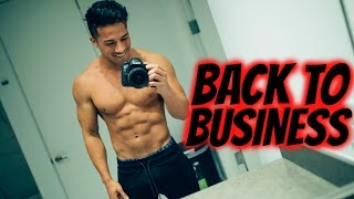 BACK TO BUSINESS | VLOG 38