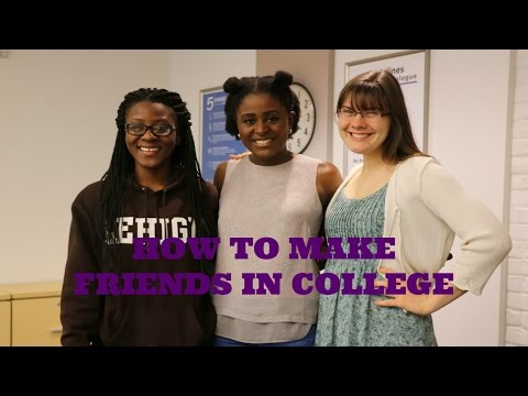 How to Make Friends in College