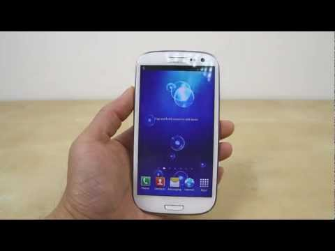 How to Change the Wallpaper on Samsung Galaxy S3 (aka S III S 3)