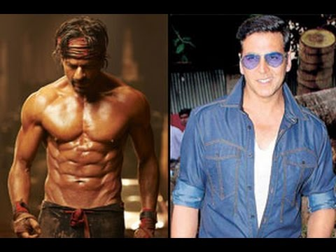 Akshay Kumar Openly Slams Shah Rukh Khan's 8 Pack Abs