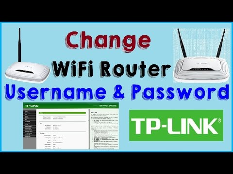 How to Change Admin Username and Password of TP Link WiFi Router 2017-TP LINK 150M Wireless N Router