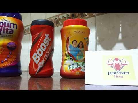 [Hindi] Bournvita Vs Boost Vs Powervita | Nutritional Facts, Price, Taste in Hindi-PanTan