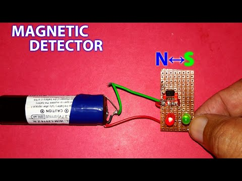 Magnet Polarity Detection Circuit (with N↔S)