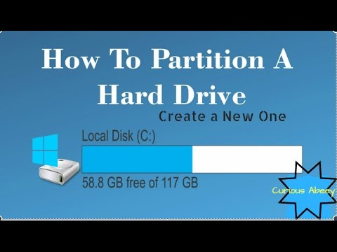 how to make drive partition in windows 7