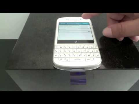 BlackBerry: Konfiguration eines mail.de Accounts via IMAP