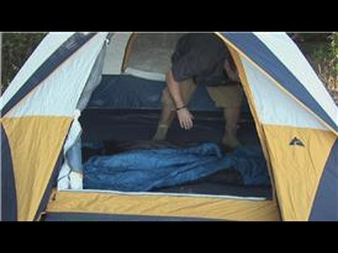 Wilderness Survival : How to Set Up Sleeping Bags in Tent Camping