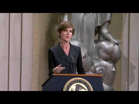 R2C  National Consortium Second Annual Meeting - Former US Deputy Attorney General Sally Yates