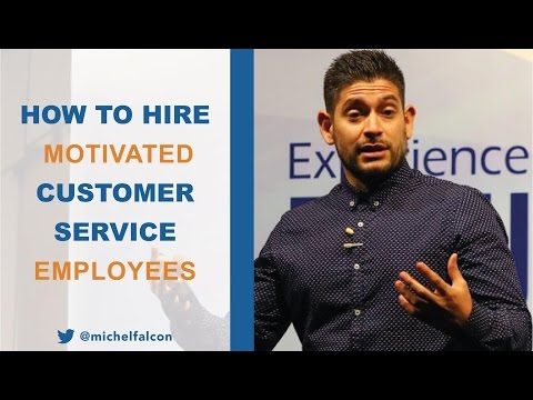 VIDEO: How to Hire Motivated Customer Service Employees