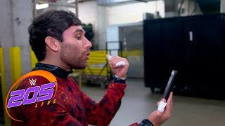 Noam Dar avoids FaceTime lecture from Alicia Fox: 205 Live Exclusive, June 13, 2017