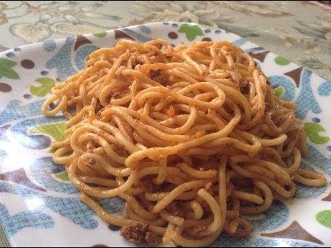 How to make Spaghetti with Beef