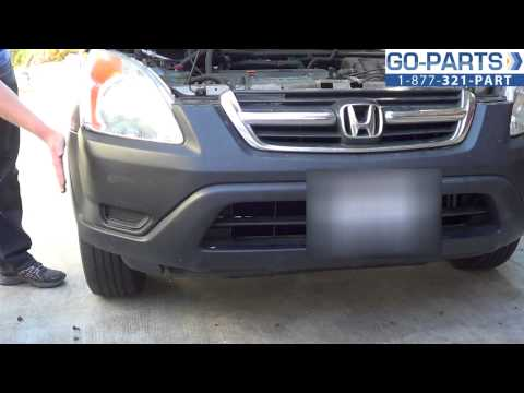 Replace 2002-2006 Honda CR-V Bumper Cover, Grille, How to Change Install 2003 2004 2005