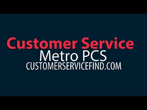metro pcs customer service phone number