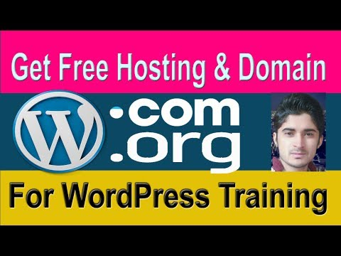 How To Get Free Hosting And Domain For WordPress Training 2017 Tutorial 1 in Urdu-Hindi