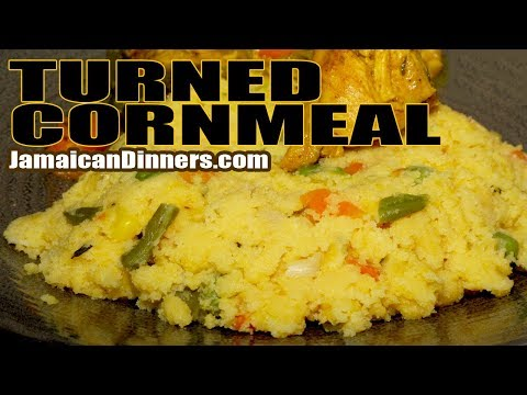 JAMAICAN TURNED CORNMEAL MIXED VEGETABLE Recipe: Short Film