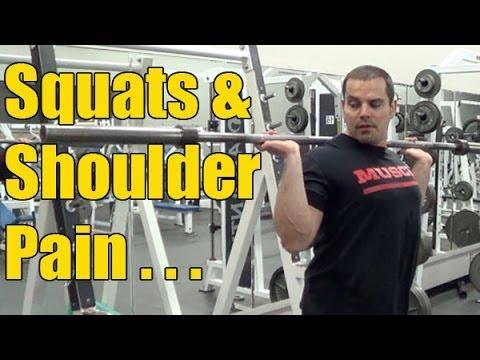 Shoulder Pain When Squatting