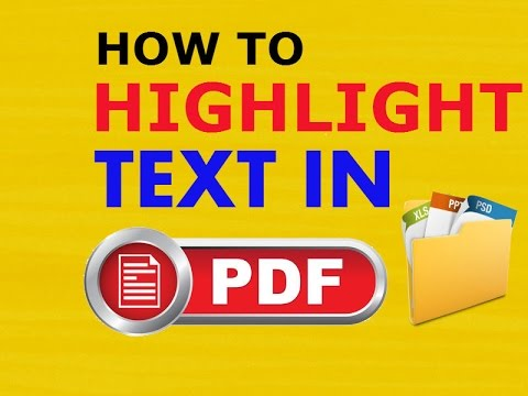How To Highlight Text in PDF File Easily using Foxit PDF Reader