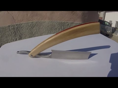 How to make a HANDLE ( for your straight razor )