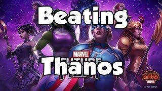 [Marvel Future Fight] Beating Thanos