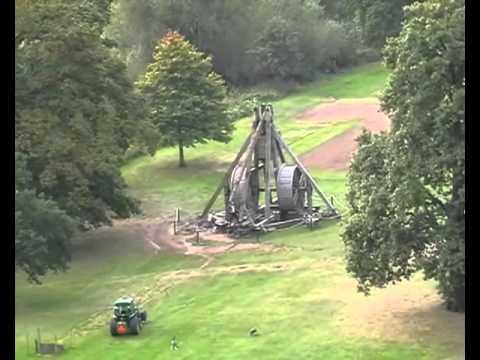 World record trebuchet at Warwick Castle