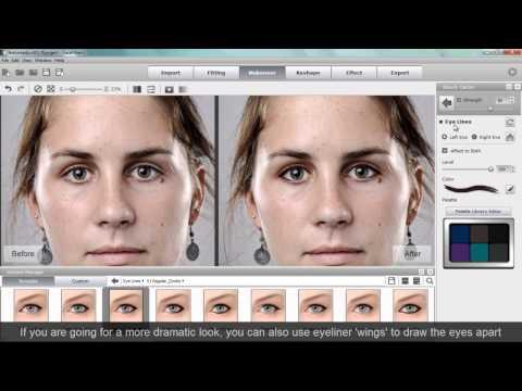 FaceFilter3 Tutorial - Adjusting Facial Symmetry