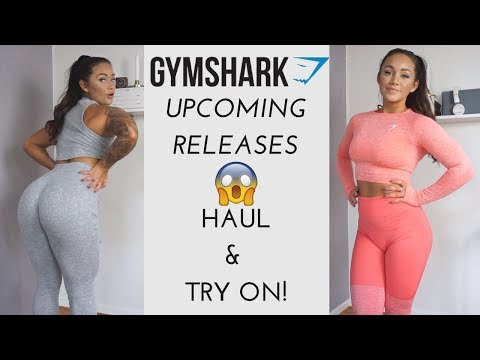 GYMSHARK NEWS AND UPCOMING RELEASES! HAUL & TRY-ON