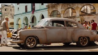 Fast and Furious 8 | Dom & Letty modifying a car