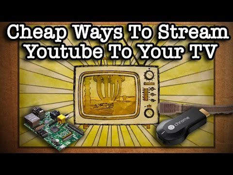 Cheap Ways To Wirelessly Stream Youtube To Your TV