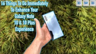 First Things to Do With Your Samsung Galaxy Note 10 or Note 10 Plus Tips / Tricks Advanced Features