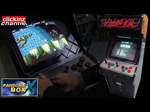 Pandoras Box X HACKED PANDORA'S BOX 3 from 520 in 1 to 705 PCB Multi Game Board ARCADE TEST VideoKit