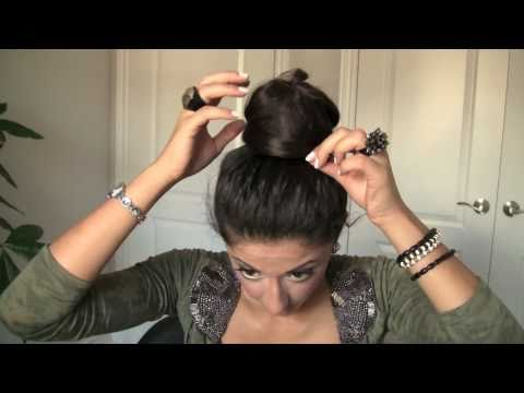 Elegant Bun with Extensions
