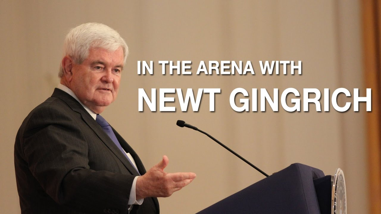 In the Arena with Newt Gingrich   Richard Nixon Presidential Library and Museum