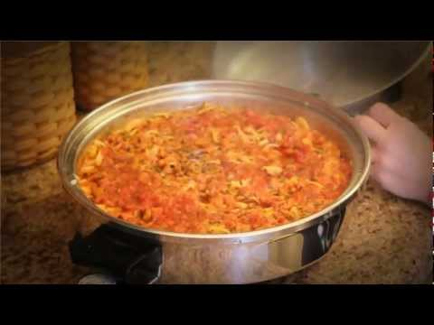 Electric Skillet Lasagna in your Towncraft Cookware