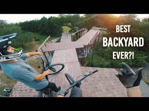 THE BEST MTB-BACKYARD EVER?!
