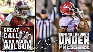 Coming through under pressure: Great Call with John Parker Wilson