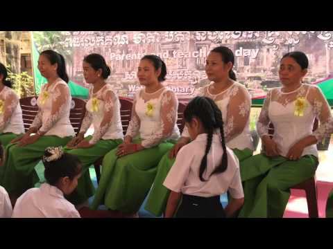 Parents and Teachers' day ( Wat Bo Primary school )